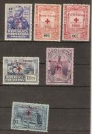 Portugal * & Selos Do 4º Cent. Do Nasc. De Luís De Camões Sobrecarregados Cruz Vermelha 1930 (23) - 1910-... Republic