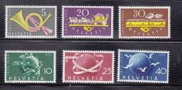 1949    N° 291 à 293  294 à 296  NEUFS**              CATALOGUE ZUMSTEIN - Suisse