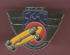 39764-pin's.skate Board.eagle Skate. - Skateboard