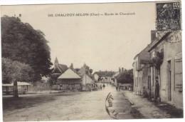 CHALIVOY - MILON ( Cher ) / ROUTE DE CHAUMONT / ANIMATION - Frankrijk