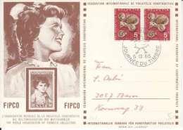 ORG MONDIALE DE PHILATELIE CONSTRUCTIVE- CACHET JOURNEE DU TIMBRE-1965 - Poststempel