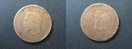 1856 B - 10 CENTIMES NAPOLEON III - FRANCE - D. 10 Céntimos