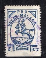 Velez Malaga (Malaga) - 5  Cts. - Sofima 1   Spain Civil War Espagne Guerre Civile & 78 - Emisiones Nacionalistas