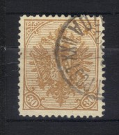 W838 - BOSNIA ERZEGOVINA 1900 , Il N. 18B Dentellato 12 1/2 Usato. - Bosnia Erzegovina
