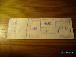 LATVIA  BUS    TICKET ,   0 - Tickets - Entradas
