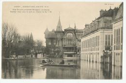 CPA YVELYNES  - 78 - Poissy - Inondations 1910 - Poissy