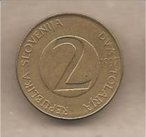 Slovenia - Moneta Circolata Da 2 Talleri - 1997 - Slovenia