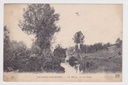 (RECTO / VERSO) VILLIERS SUR MORIN - N° 21 - LE MORIN VU DU PONT - Frankrijk