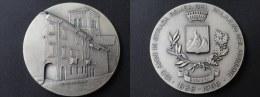 SUPERBE MEDAILLE 1838 1988  150 ANNI IN STRADA ROMEA DEL PALAZZO DEL COMUNE - 81 Mm - Jetons & Médailles