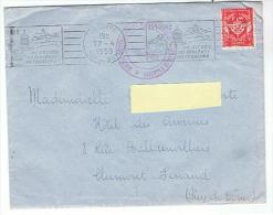 Lettre En Franchise - Cachet :Centre D´entrainement De Moniteurs De La Jeunesse D´Algérie - Franchise Stamps
