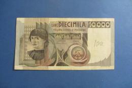 BANCONOTA DA 10.000 LIRE _ DIECIMILA LIRE ITALIA CASTAGNO ITALY_06/09/1980 - [ 2] 1946-… : Républic