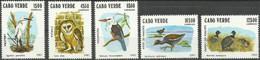 CAPE VERDE..1981..Michel # 445-449...MNH...MiCV - 12 Euro. - Cape Verde
