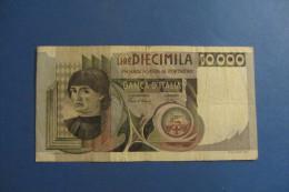 BANCONOTA DA 10.000 LIRE _ DIECIMILA LIRE ITALIA CASTAGNO ITALY_03/11/1982 - [ 2] 1946-… : Républic