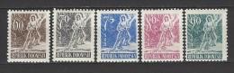INDONESIEN Mi-Nr. 105 - 109 Freimarken Postfrisch (2) - Indonesien