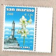 San Marino - Amaryllis Hippeastrum - 2001 - Neufs