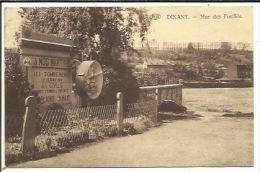 CPA ( Dinant , Mur Des Fusillés ) - Unclassified