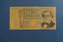 BANCONOTA DA 1.000 LIRE _ MILLE LIRE ITALIA VERDI ITALY_11/03/1971 - [ 2] 1946-… : Repubblica