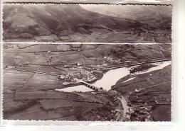 64 BEHOBIE ( B P ) - Le Pont International - La Bidassoa - L'Ile Aux Faisans , Au Fond Irun Et Béhobia (Espagne)  - CPSM - Béhobie