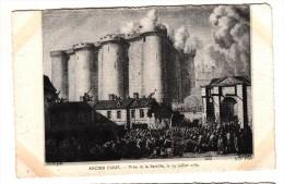 75 - Ancien Paris - Prise De La Bastille, Le 14 Juillet 1789 - Editeur: ND Phot - France