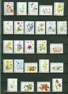 Netherlands 2008,25V,complete Set,flowers,bloemen,blume N,MNH/PostfrisE4362us) - Planten