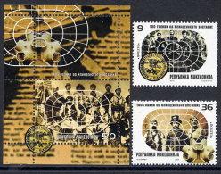 MACEDONIA 2003 Centenary Of Ilinden Rising  MNH / **.  Michel 287-88 + Block 10 - Macedonia
