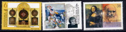 MACEDONIA 2002 Artists´ Anniversaries MNH / **.  Michel 250-52 - Macedonia