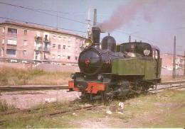 Nº274 POSTAL DE ESPAÑA DE UNA LOCOMOTORA F.C. PORTUGUESES EN EL GRAO - VALENCIA (TREN-TRAIN-ZUG) AMICS DEL FERROCARRIL - Trenes