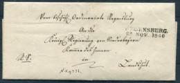 1840 Altdeutschland Vorphila Regensburg - Deutschland