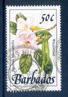 Barbados 1989-92 Wild Plants - 55c Bluebell Used - Barbados (1966-...)