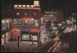 Haifa-hadar Hacarmel-herzl Street At Night-unused,perfect Shape - Israel