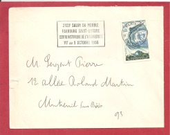 Y&T N°1484  PARIS  Vers  MONTREUIL Le     30 SEPTEMBRE 1966 2 SCANS - Marcophilie (Lettres)