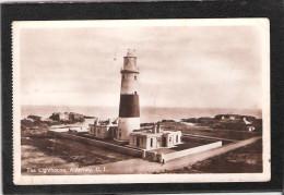 Reduced Price !! Alderney The Lighthouse Vintage RP Postcard CI CHANNEL ISLANDS Phare Leuchtturm - Alderney