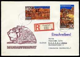 31930) DDR - Michel 1584 / 1590 - Brief + 2 R-Briefe - Archäologische Forschung - DDR