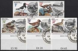 Alderney 13/17 Gestempelt Seevögel - Alderney