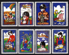 KOREA Nord 1979 - Internationales Jahr Des Kindes - MiNr.1913-1920 Kompletter Satz - Kind & Jugend
