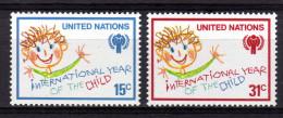 UNO NEW YORK 1979 ** Internationales Jahr Des Kindes - MiNr.334-335 Kompl. Satz MNH - Kind & Jugend