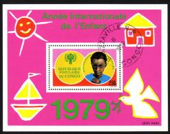 CONGO 1979 - Internationales Jahr Des Kindes - Block 21 - Kind & Jugend