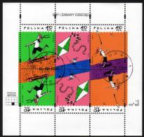 POLEN 2002 - Internationaler Kindertag - Block 149 Mit Erstagsstempel - Kind & Jugend