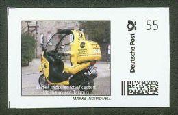 MARKE INDIVIDUELL Deutsche Post Mobiler Briefkasten Motorrad 55 C ** - Privados & Locales