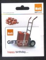 GREAT BRITAIN - GIFT CARD  FOR COLLECTION - (  B&Q ) - Gift Cards