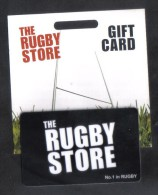 GREAT BRITAIN - GIFT CARD  FOR COLLECTION - (  THE RUGBY STORE ) - Gift Cards