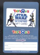 GREAT BRITAIN - GIFT CARD  FOR COLLECTION - (  TOYS RUS ) - Gift Cards