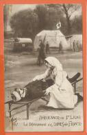NOV-Mont86, Ambulance De 1ère Ligne, Le Dévouement Des Dames De France, Militaires, Armée, Guerre,circulée 1915 - Croce Rossa