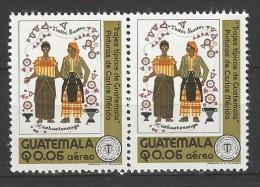 GUATEMALA Mi-Nr. 1080 Im Paar Trachten Postfrisch - Kostüme