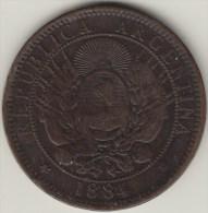 @Y@  Argentinië  2 Centavos  1884  ( 2747 ) - Argentinië