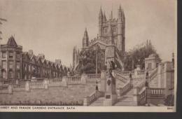 Abbey And Parade Gardens Entrance BATH - Bath