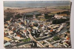 CPSM Grand Format Mouzon Ardennes Vue Aérienne - LC10 - Andere Gemeenten