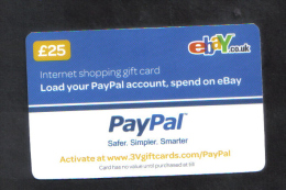 GREAT BRITAIN - GIFT CARD  FOR COLLECTION - (  PAYPAL ) - Gift Cards