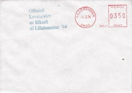 OLYMPISCHE SPIELE-OLYMPIC GAMES, NORWAY/LILLEHAMMER 1994, Special Cancellation !! - Winter 1994: Lillehammer