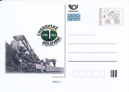 Czech Rep. / Postal Stat. (Pre2011/41) Chodov Mining (1799-2011), XV. Meeting Of Mining Towns And Villages - Postwaardestukken